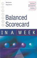 Balanced Scorecard in a Week