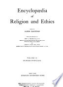 Encyclopædia of Religion and Ethics