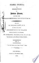 Flora Indica, Or, Descriptions of Indian Plants