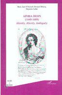Aphra Behn  1640 1689  Book