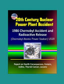20th Century Nuclear Power Plant Accident