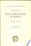 Anales de la Real Academia Nacional de Medicina - 1977 - Tomo XCIV - Cuaderno 4
