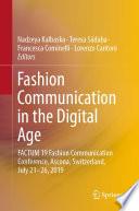Fashion Communication in the Digital Age PDF Book