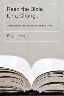 Read the Bible for a Change Pdf/ePub eBook