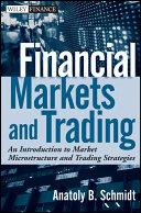 Financial Markets and Trading Pdf/ePub eBook