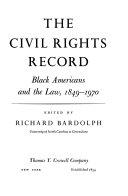 The Civil Rights Record Book PDF