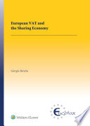 European VAT and the Sharing Economy