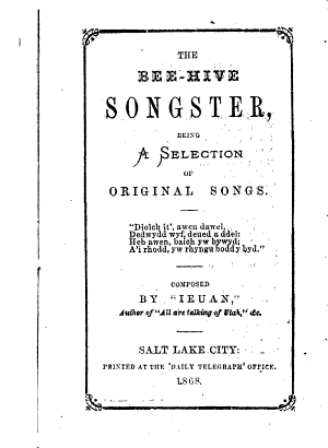 The Bee-hive Songster (1868)