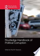 Routledge Handbook Of Political Corruption Book