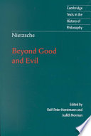 Nietzsche: Beyond Good and Evil  : Prelude to a Philosophy of the Future