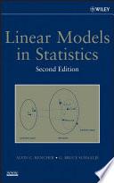 Linear Models in Statistics