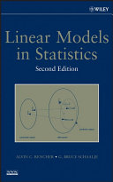 Linear Models in Statistics Pdf/ePub eBook