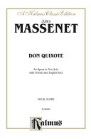 Pdf Don Quixote, An Opera in Five Acts Telecharger
