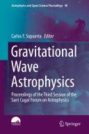 Gravitational Wave Astrophysics