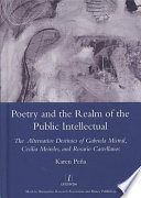 Poetry and the Realm of the Public Intellectual