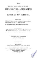 The London  Edinburgh and Dublin Philosophical Magazine and Journal of Science Book