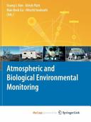Atmospheric and Biological Environmental Monitoring Book
