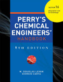 PERRY'S CHEMICAL ENGINEER'S HANDBOOK 8/E SECTION 16 ADSORPTION&ION EXCH.. (POD)