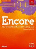 Encore Violin, Book 1, Grades 1 & 2