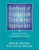 Handbook of Alcoholism Treatment Approaches