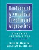 Handbook Of Alcoholism Treatment Approaches
