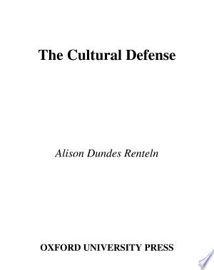 Download PDF >> The Cultural Defense Free Online Books - Free eBook Collection