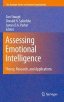 Assessing Emotional Intelligence Pdf/ePub eBook