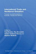 International Trade and Neoliberal Globalism