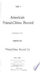 American Poland-China Record