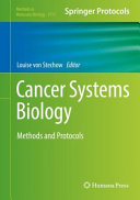 Cancer Systems Biology Book PDF