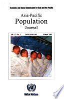 Asia-Pacific Population Journal