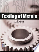 Testing of Metals