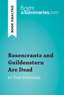 Rosencrantz and Guildenstern Are Dead by Tom Stoppard  Book Analysis