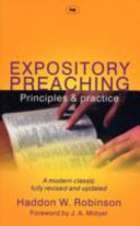Cover of Expository Preaching