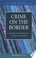 Crime on the Border