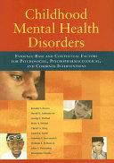 Childhood Mental Health Disorders