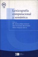 Lexicografía computacional y semántica