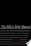 The MLA Style Manual