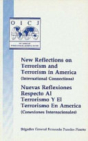 New Reflections On Terrorism And Terrorism In America International Connections