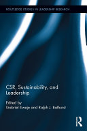 Pdf CSR, Sustainability, and Leadership Telecharger