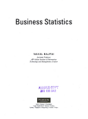 business statistics by naval bajpai