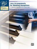 Jazz Arrangements for Wedding Receptions
