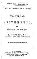 Practical Arithmetic, by Induction and Analysis