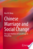 Chinese Marriage and Social Change Book