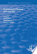 Environment Planning And Land Use