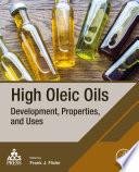 High Oleic Oils