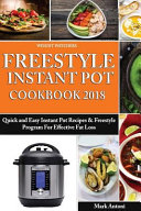 Weight Watchers Freestyle Instant Pot Cookbook 2018
