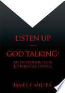 Listen Up God Talking  Book