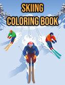 Skiing Coloring Book