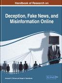 Handbook of Research on Deception, Fake News, and Misinformation Online Pdf/ePub eBook